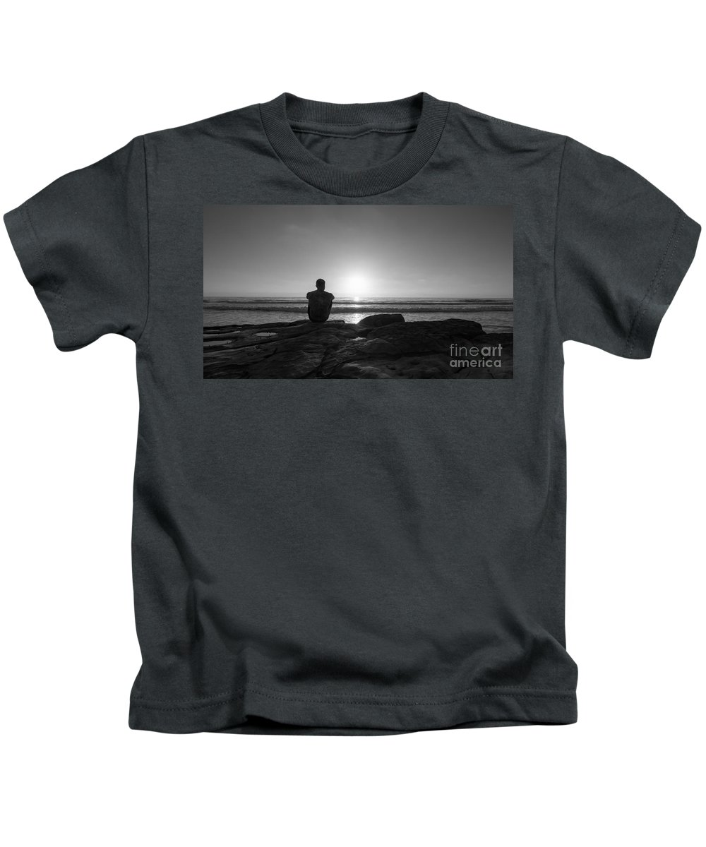 Michael Ver Sprill Kids T-Shirt featuring the photograph The View Wide Crop by Michael Ver Sprill