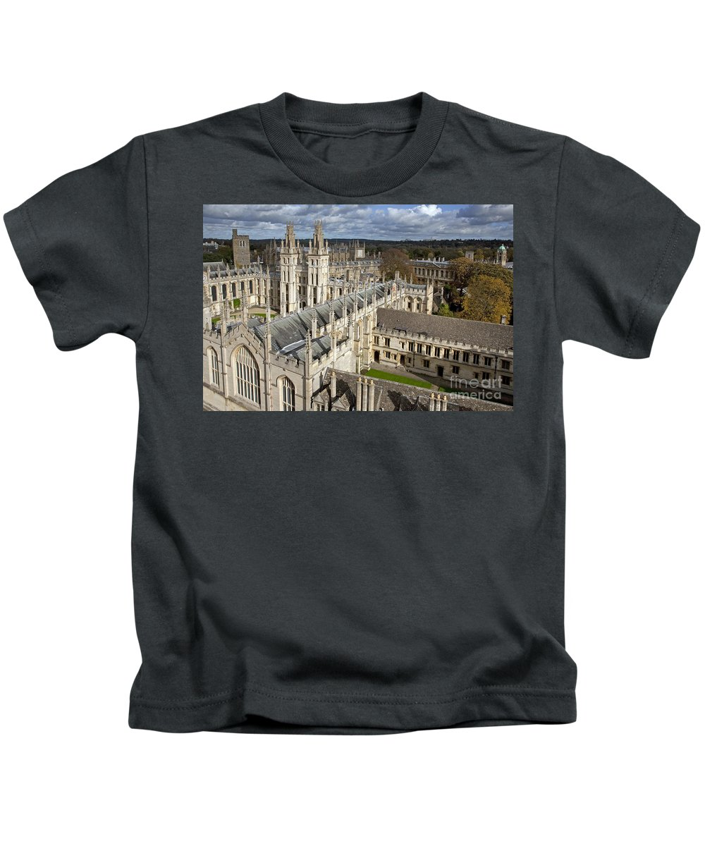 All Souls Kids T-Shirt featuring the photograph 110307p105 by Arterra Picture Library