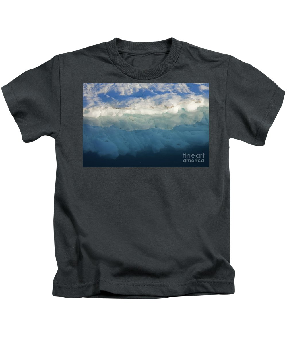 Iceberg Kids T-Shirt featuring the photograph 110506p051 by Arterra Picture Library