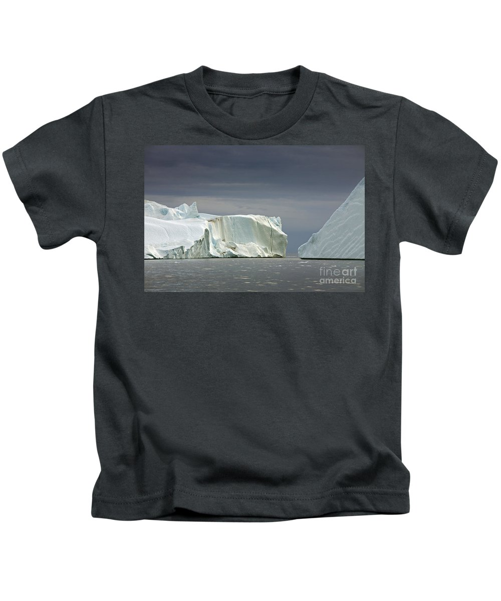 Iceberg Kids T-Shirt featuring the photograph 110506p052 by Arterra Picture Library