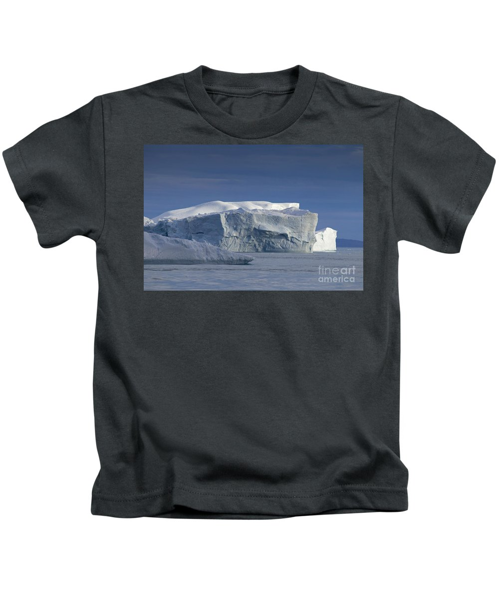 Iceberg Kids T-Shirt featuring the photograph 110613p174 by Arterra Picture Library