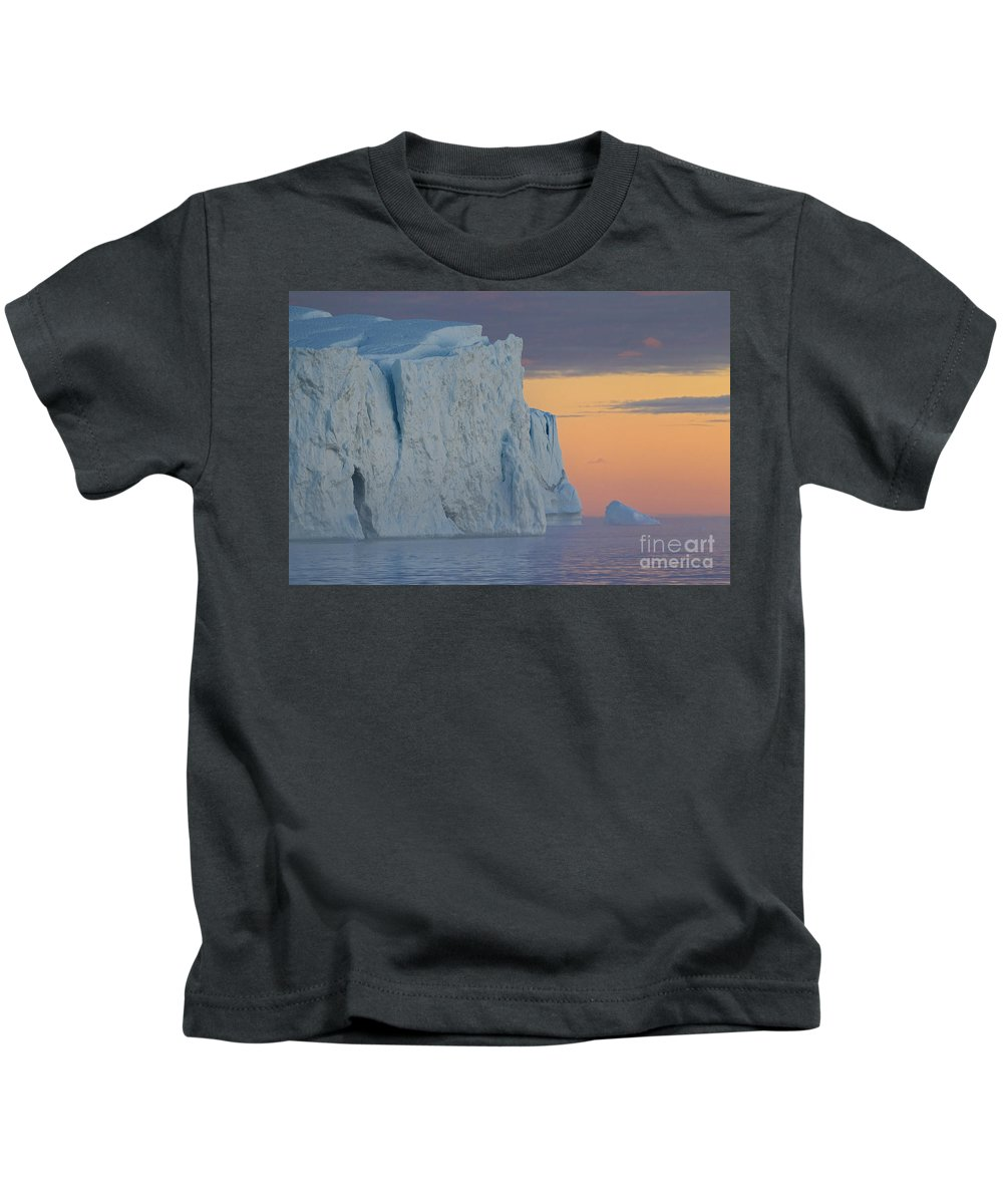 Iceberg Kids T-Shirt featuring the photograph 110613p175 by Arterra Picture Library