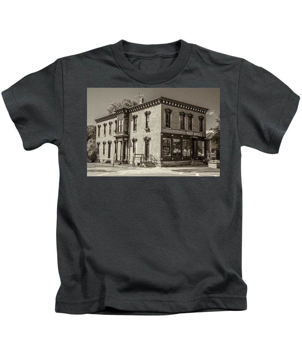 14709 Kids T-Shirt featuring the photograph 14709 by Guy Whiteley