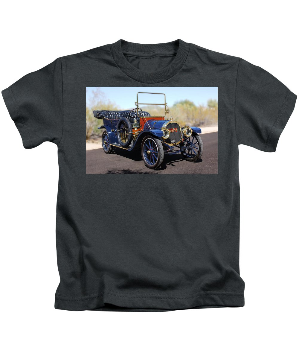 1910 Pope Hartford Model T Kids T-Shirt featuring the photograph 1910 Pope Hartford Model T by Jill Reger