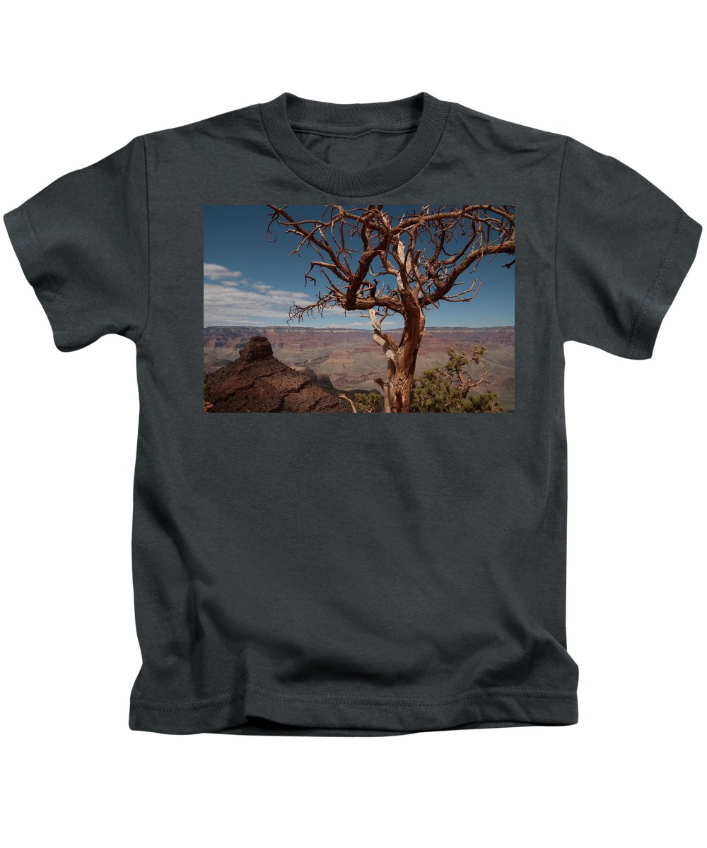 Color Image Kids T-Shirt featuring the photograph South Rim, Grand Canyon National Park by Jeremy Wade Shockley