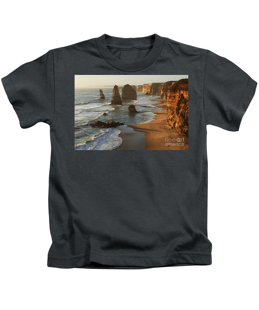 Twelve Apostles Kids T-Shirt featuring the photograph Twelve Apostles Australia by Bob Christopher