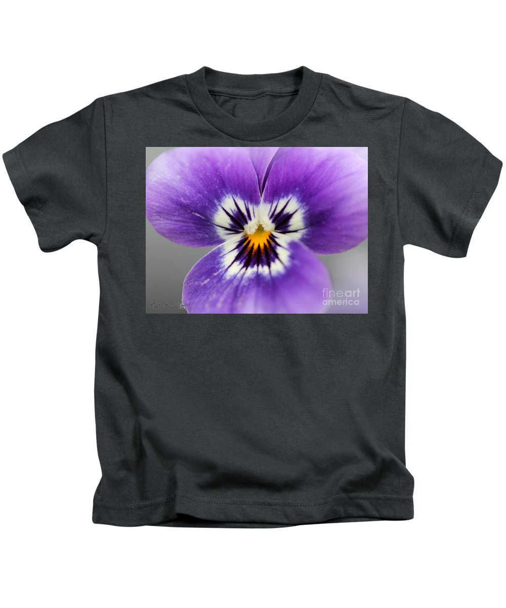 Mccombie Kids T-Shirt featuring the photograph Viola Named Sorbet Marina Baby Face by J McCombie
