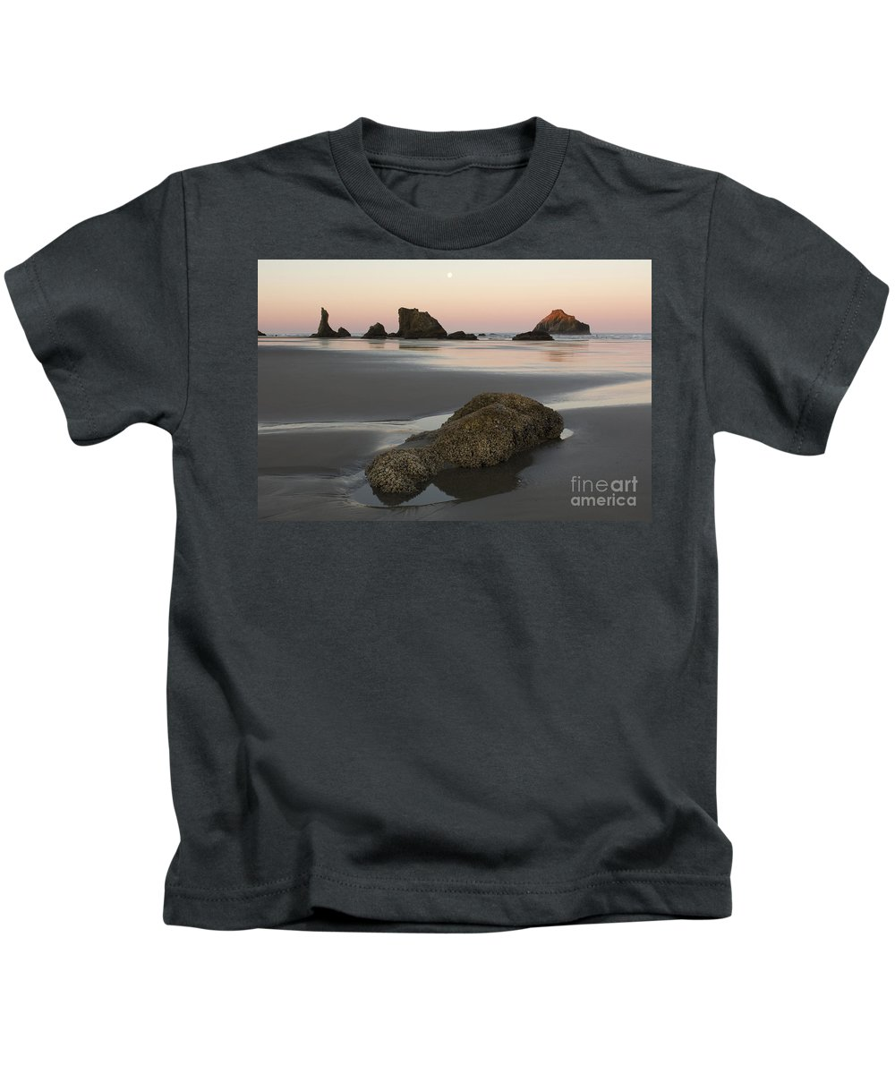 Landscape Kids T-Shirt featuring the photograph Low Tide by John Shaw