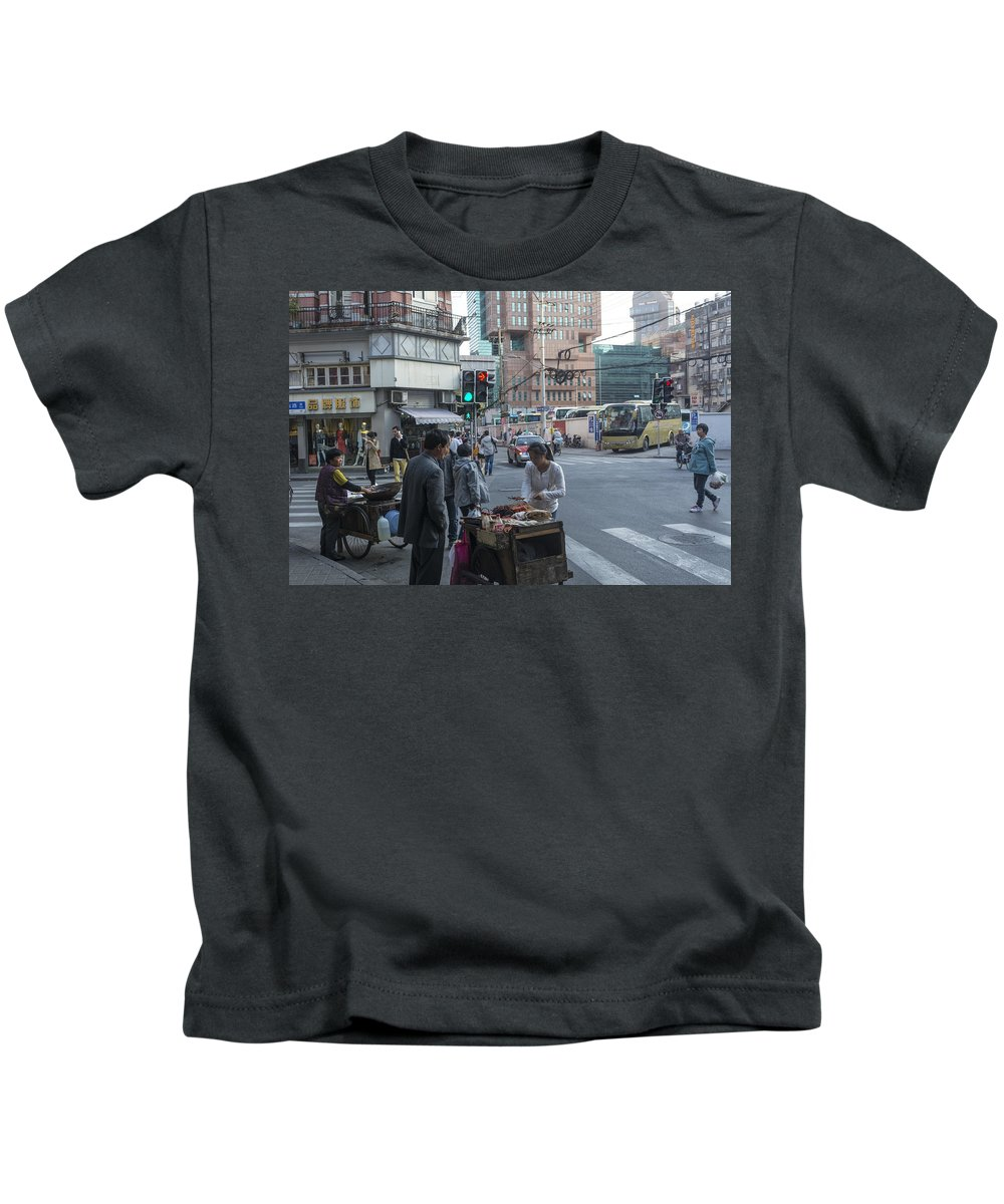 Asia Kids T-Shirt featuring the photograph 4863 by David Lange