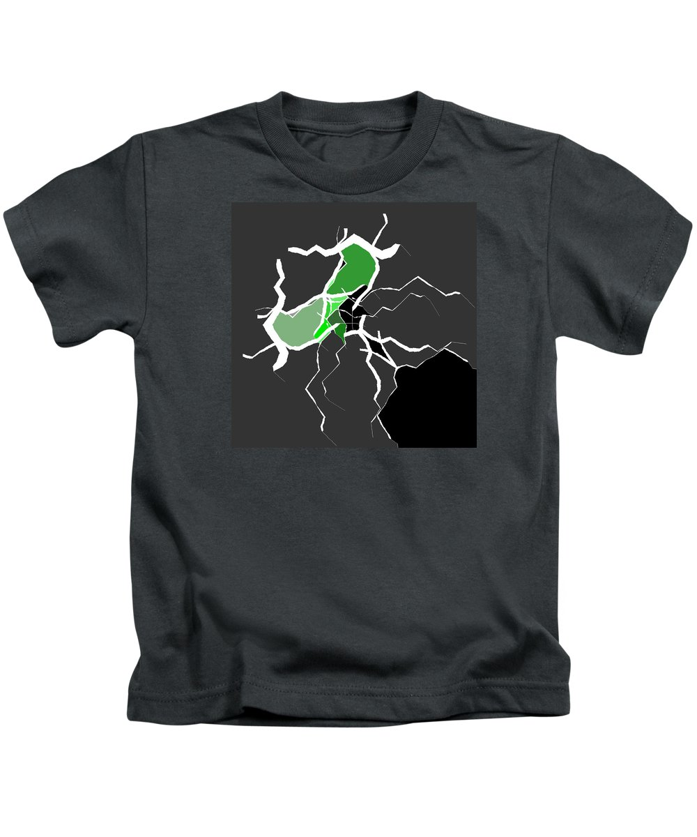 Abstract Kids T-Shirt featuring the digital art 5040.16.29 by Gareth Lewis