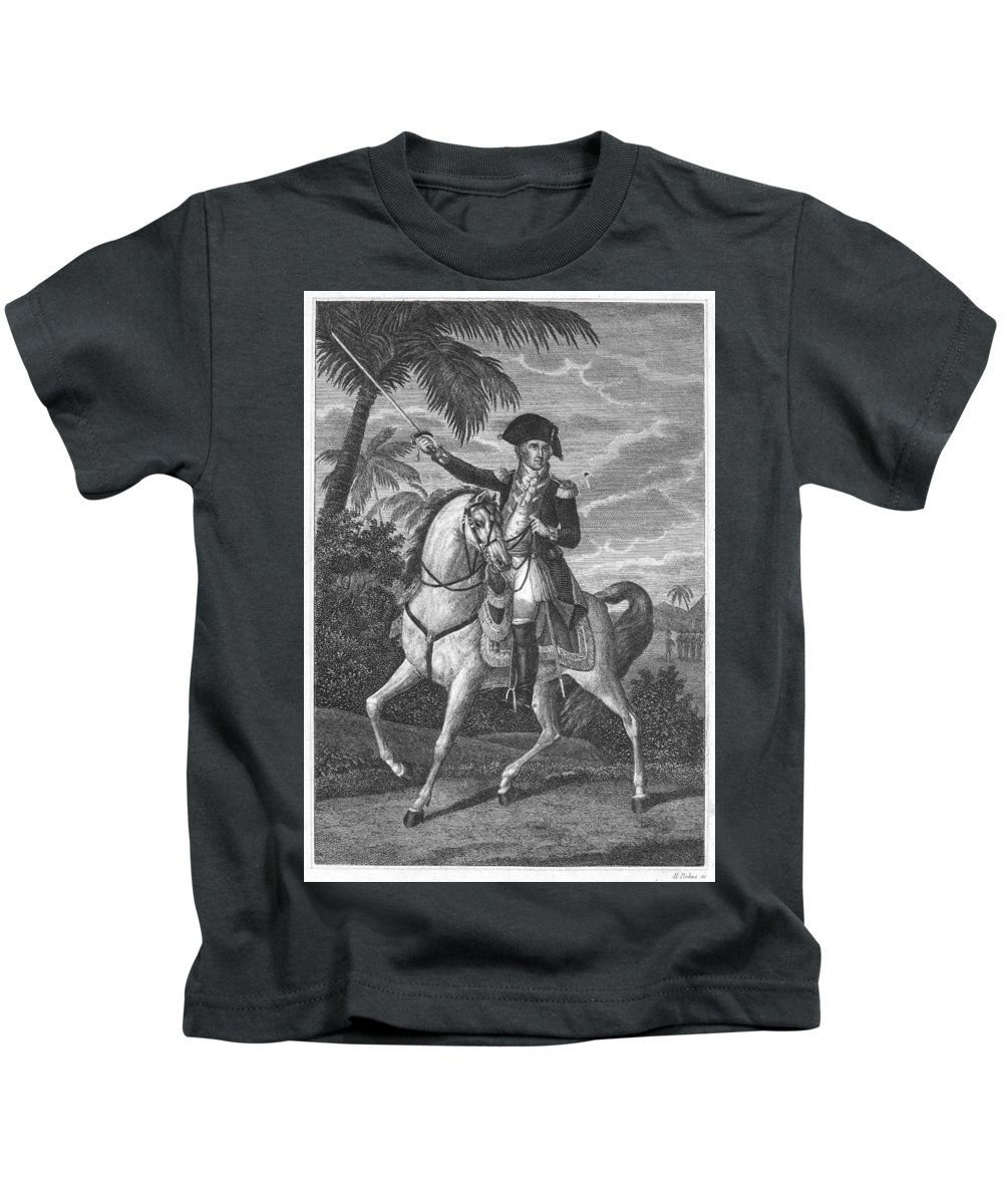 18th Century Kids T-Shirt featuring the photograph George Washington by Granger