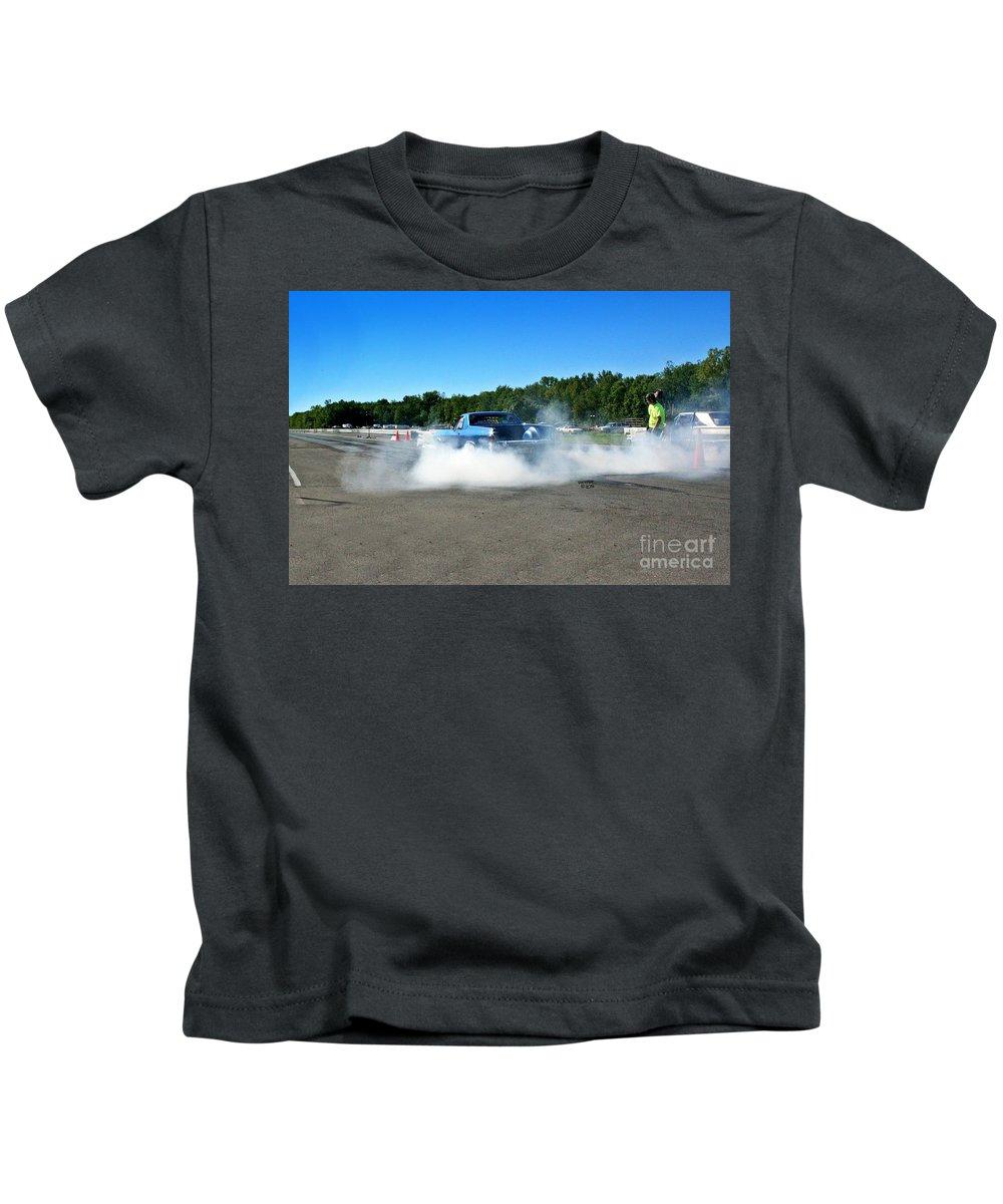 Esta Safety Park Kids T-Shirt featuring the photograph 6733 Esta Safety Park 09-07-14 by Vicki Hopper