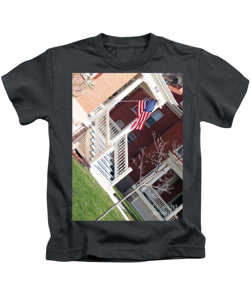 86d Kids T-Shirt featuring the photograph 86D by Korynn Neil