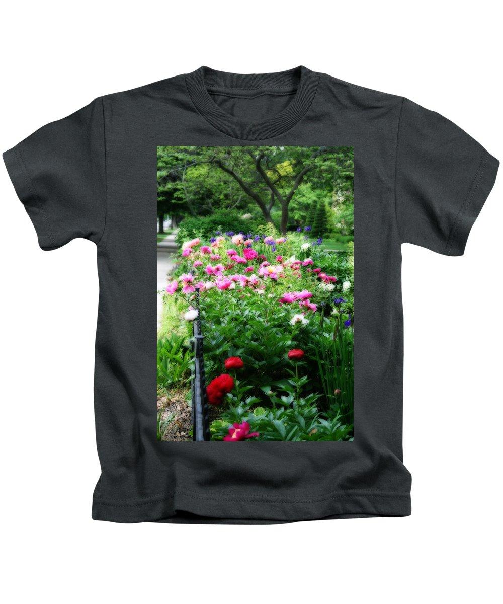 Flower Kids T-Shirt featuring the photograph A Beautiful Walk by Kay Novy