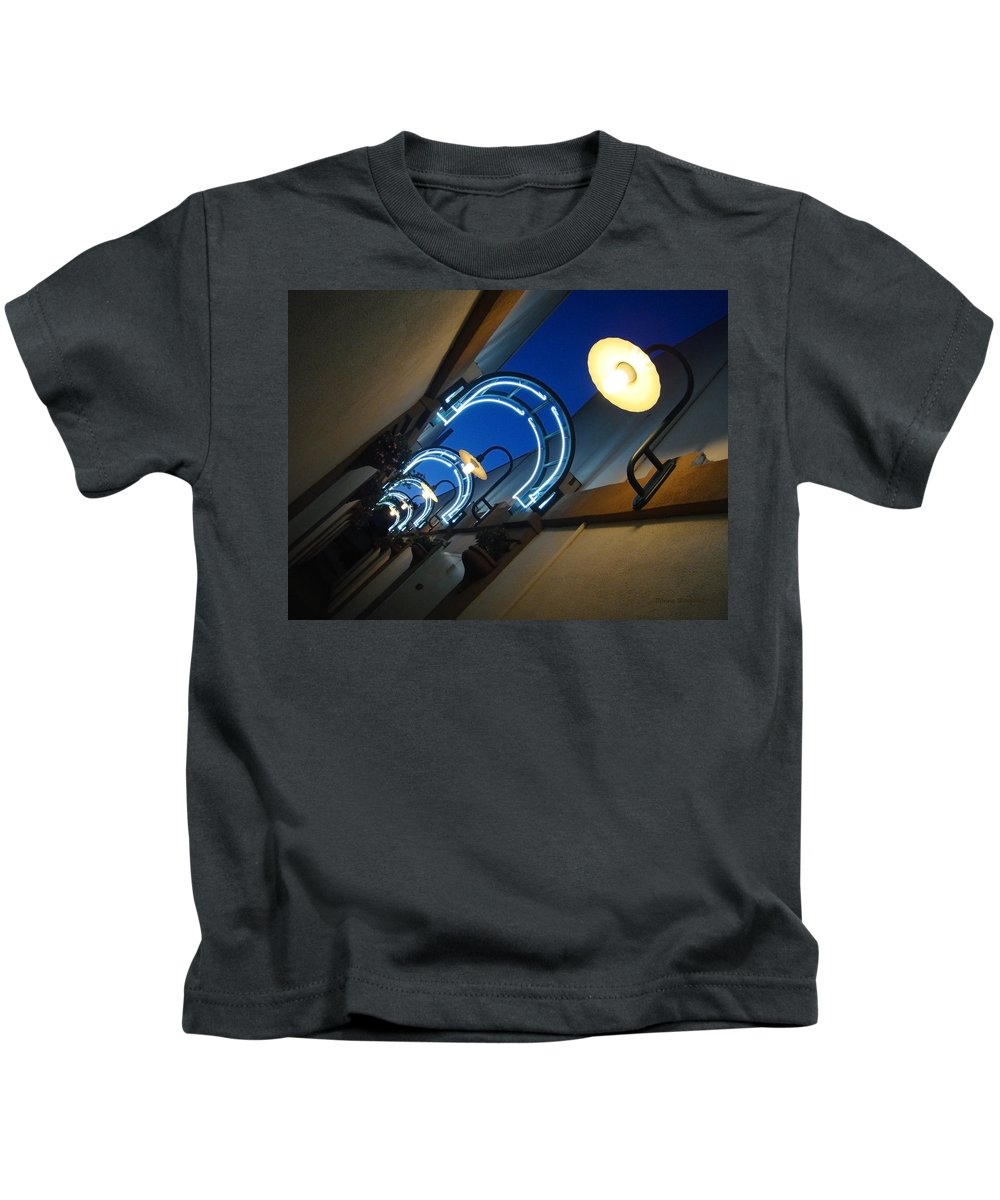 City Kids T-Shirt featuring the photograph A Light To My Path by Donna Blackhall