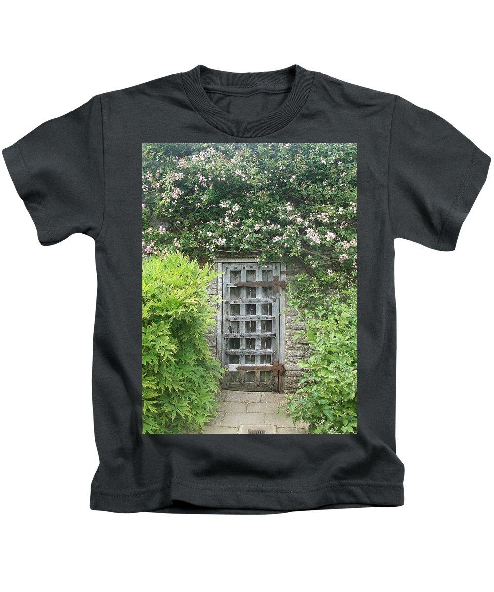 Door Kids T-Shirt featuring the photograph A Mystery by Asa Jones