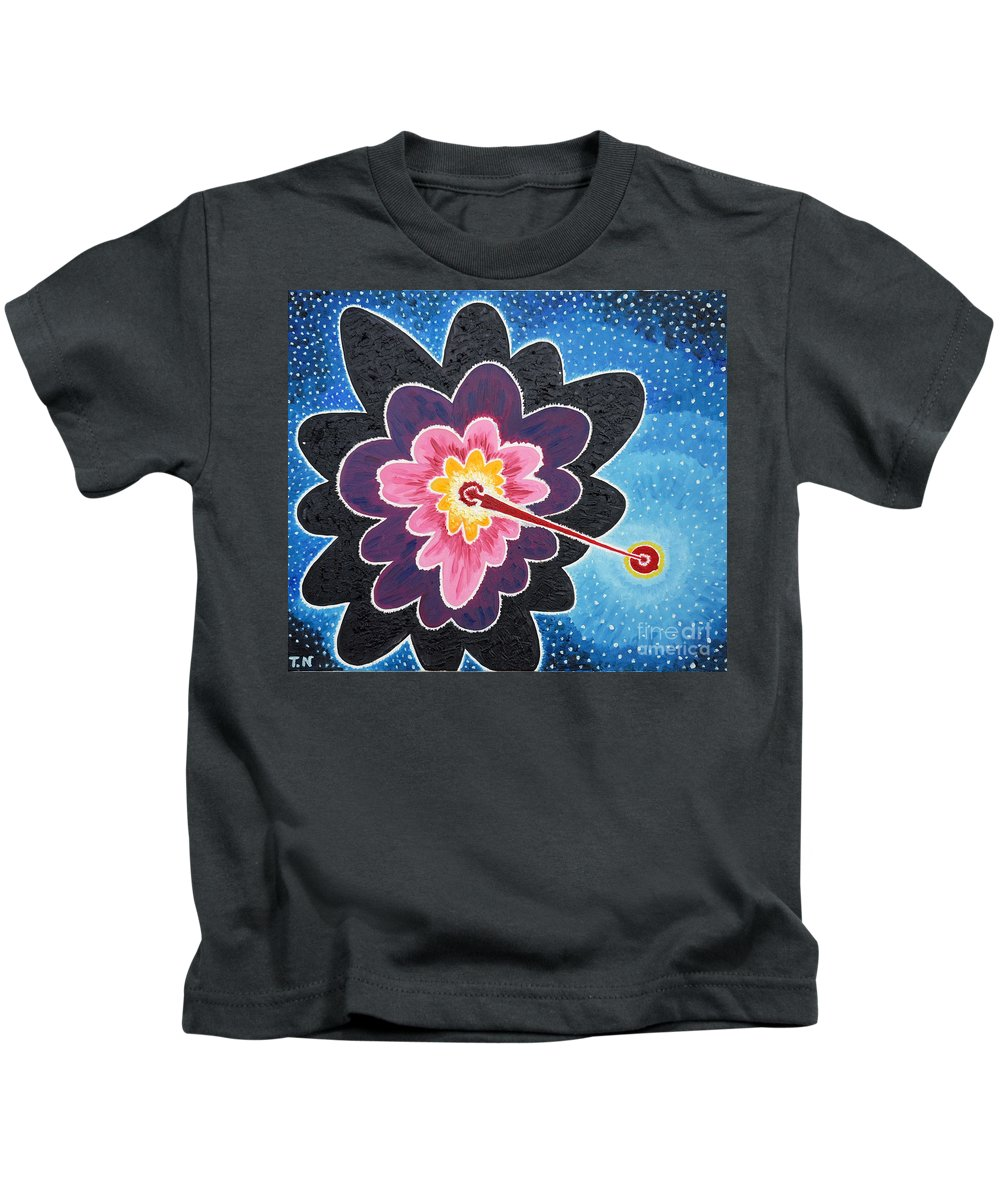 Star Kids T-Shirt featuring the painting A New Star Is Born. by Taikan Nishimoto