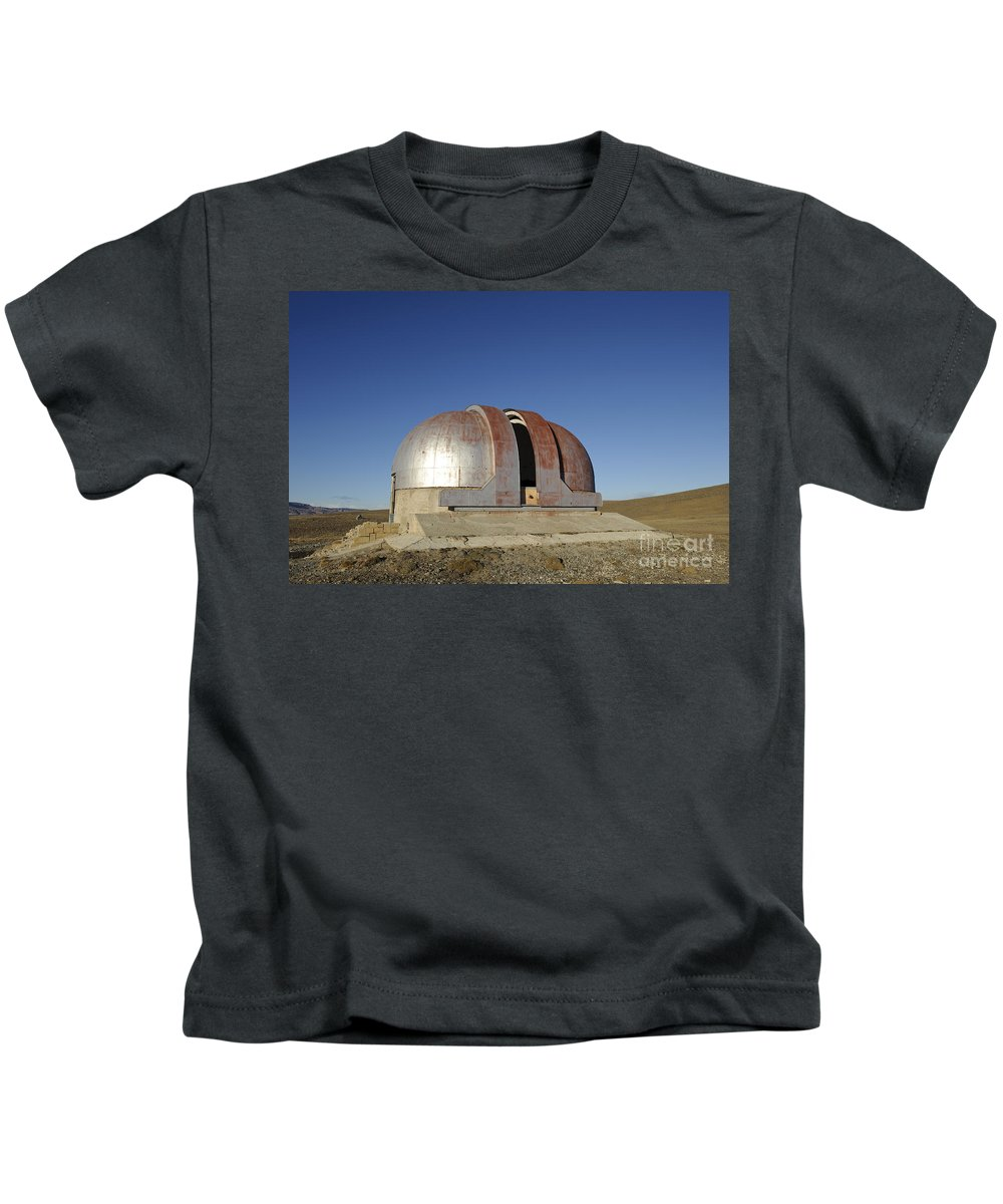Argentina Kids T-Shirt featuring the photograph Abandoned Observatory by John Shaw