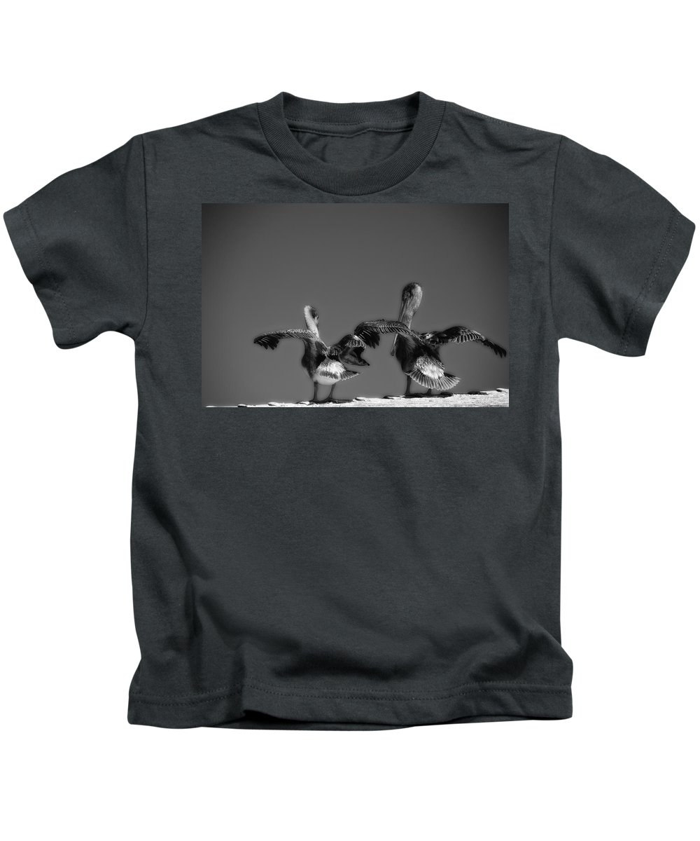 Monterey Ca Kids T-Shirt featuring the photograph Airing Out by Ron White