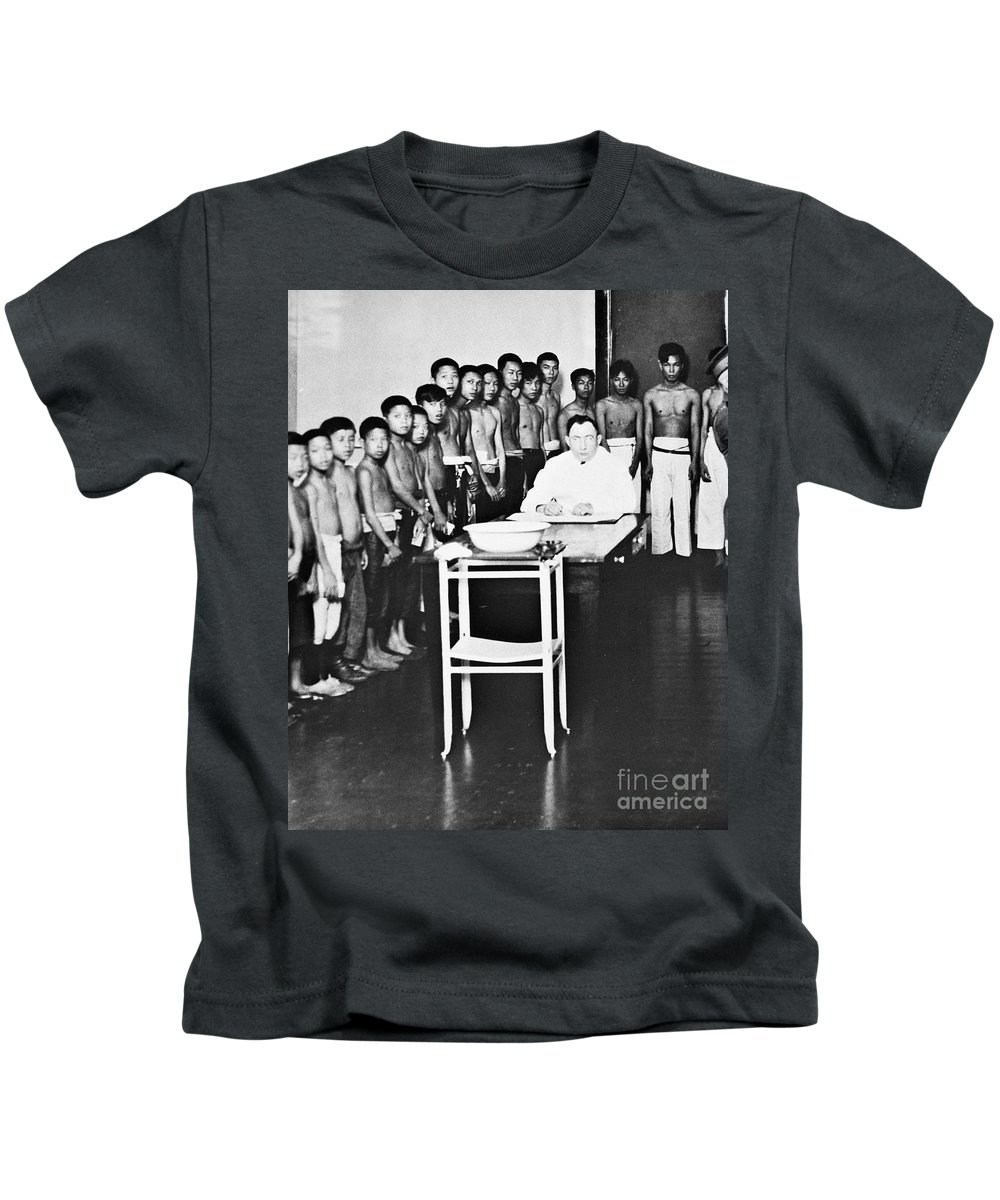 1910 Kids T-Shirt featuring the photograph Angel Island, C1910 by Granger