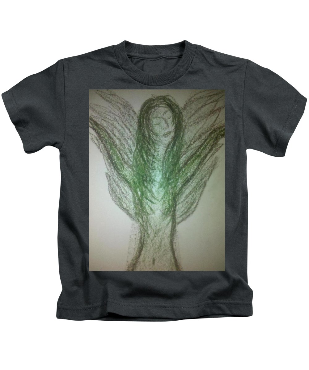 Angel Kids T-Shirt featuring the photograph Art Therapy 48 by Michele Monk