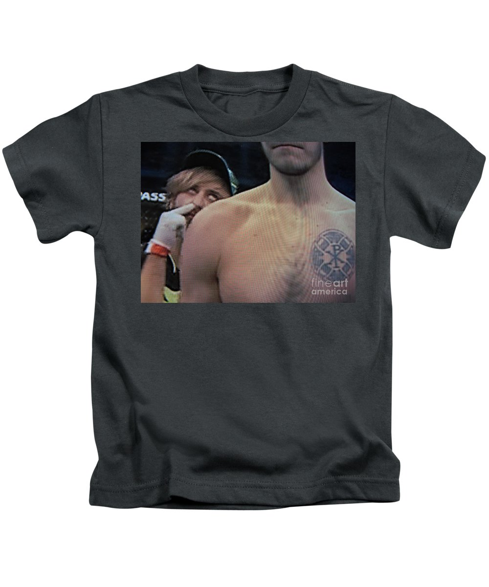 Ufc Kids T-Shirt featuring the photograph Ass Seen On Tv by John King