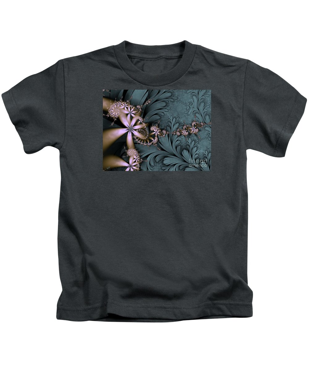 Awake The Day Kids T-Shirt featuring the digital art Awake The Day by Kimberly Hansen