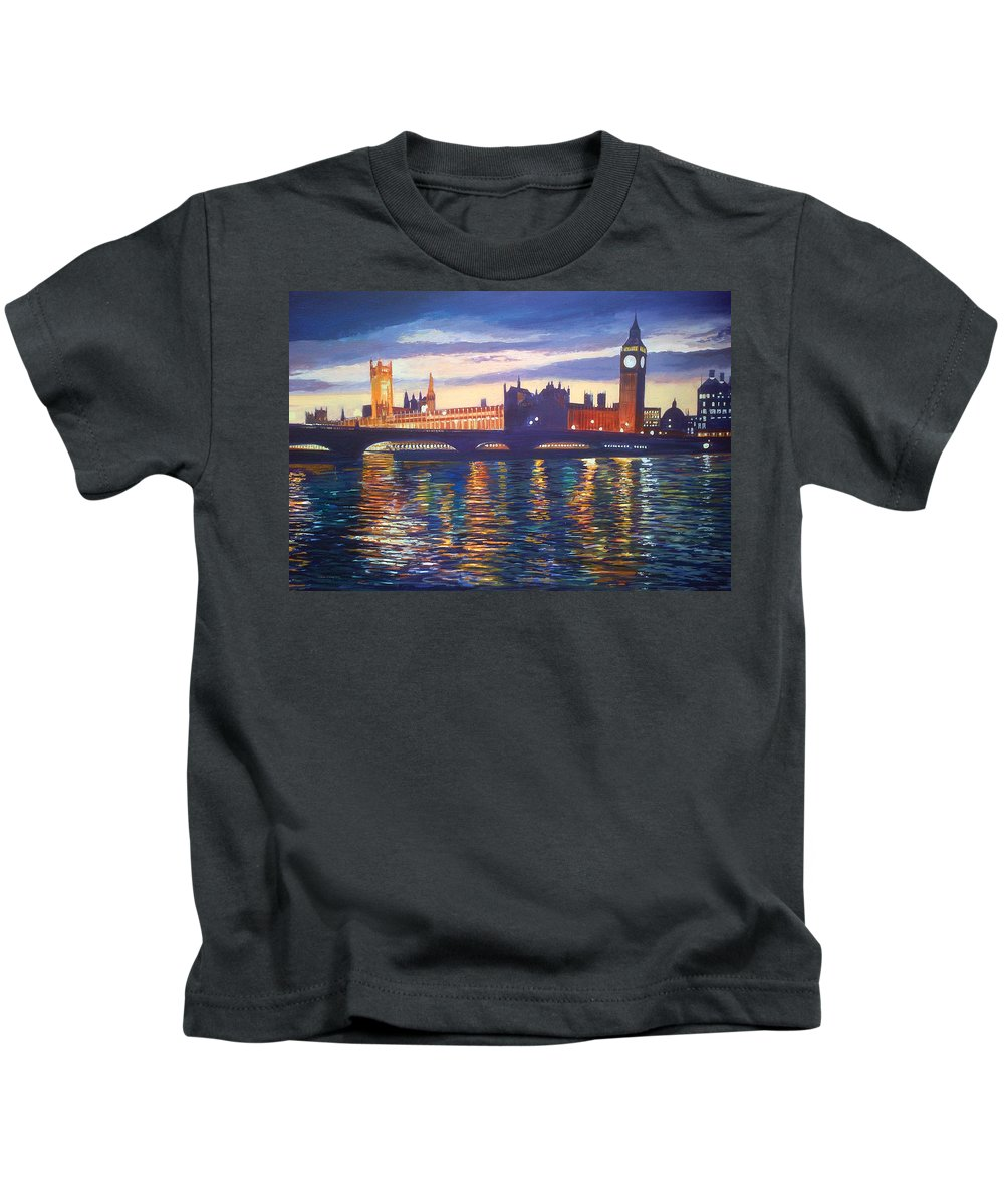 Steve Crisp Kids T-Shirt featuring the photograph Big Ben by Steve Crisp