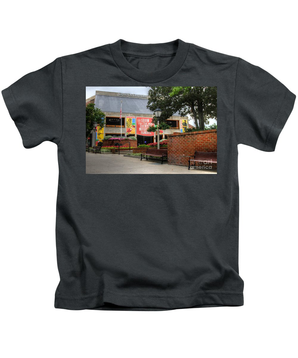 Grand Ole Opery Kids T-Shirt featuring the photograph Big Dreams by Robert Pearson