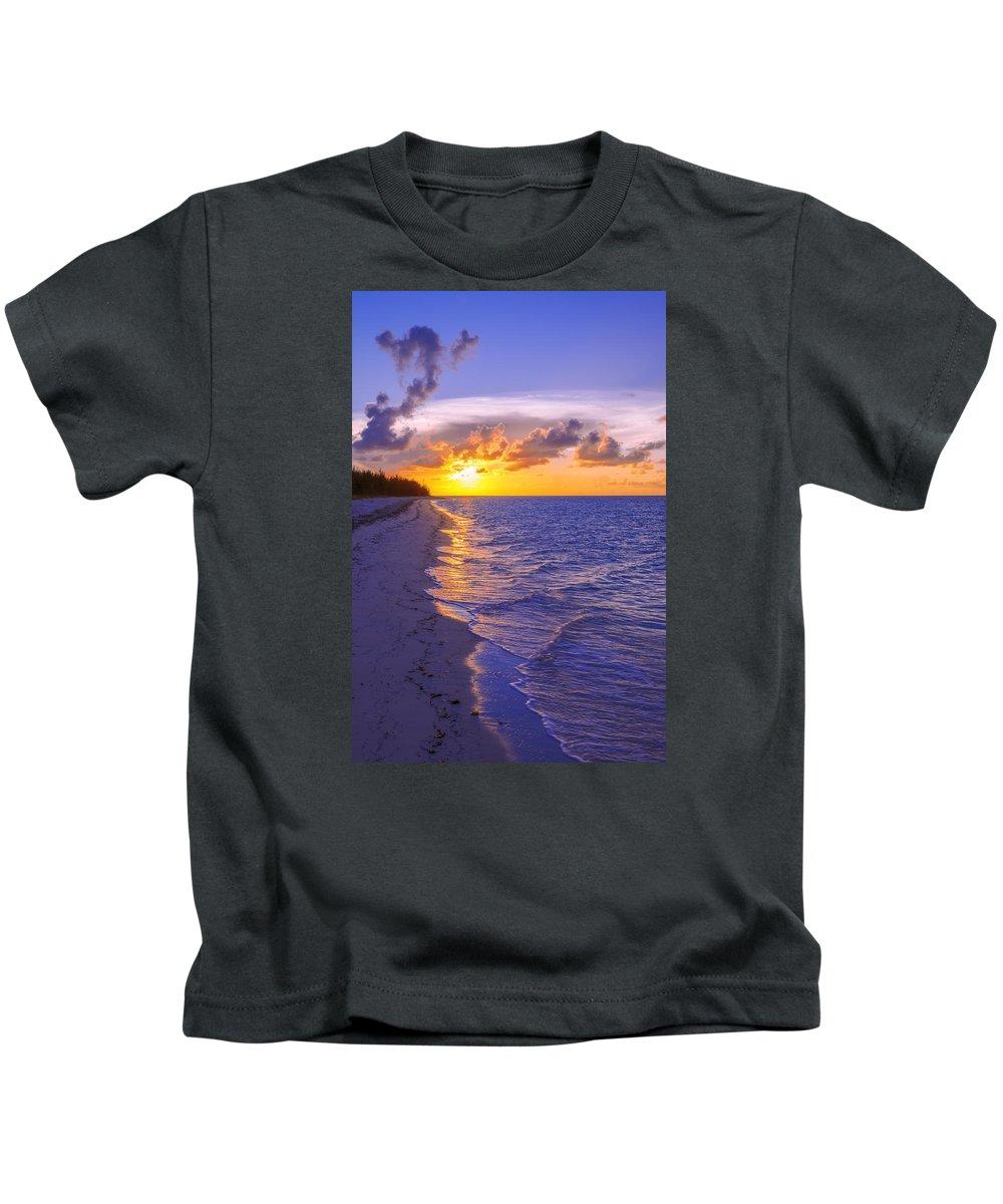 Blaze Kids T-Shirt featuring the photograph Blaze by Chad Dutson