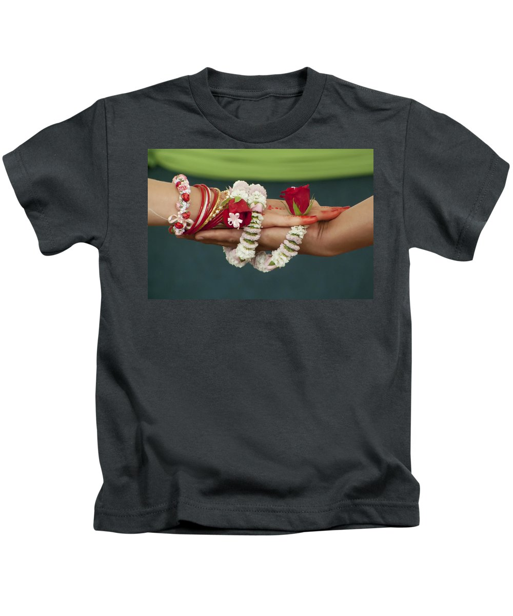 Bound Kids T-Shirt featuring the photograph Bound For Eternity by Daniel Csoka
