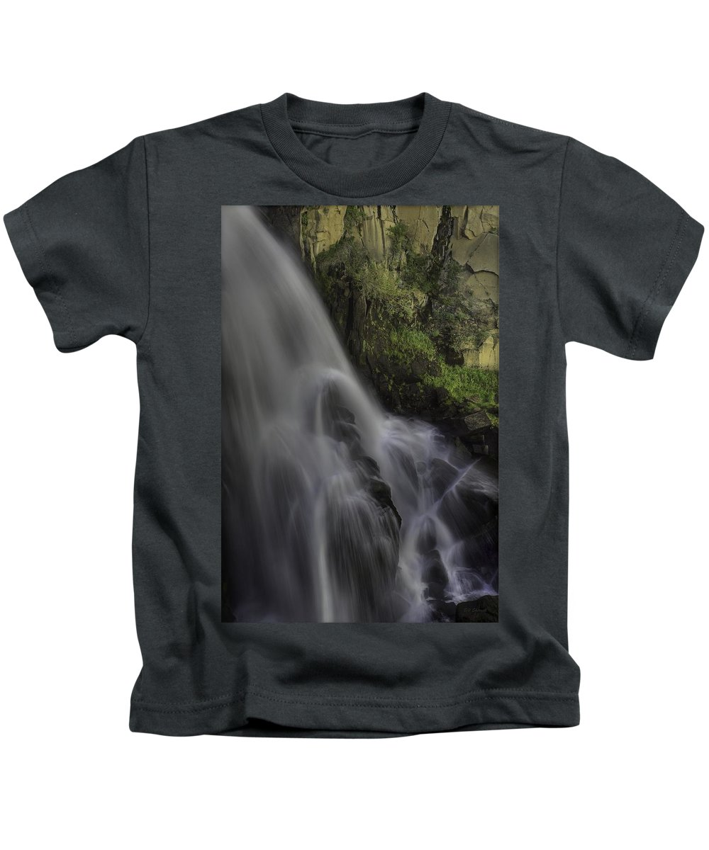 Waterfalls Kids T-Shirt featuring the photograph Bridal Veil Falls by Bill Sherrell