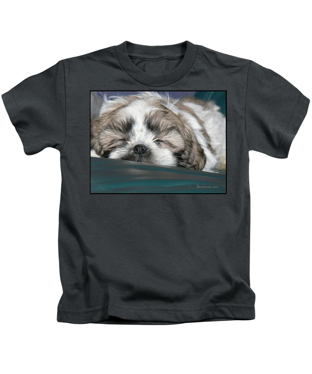 Bubba Kids T-Shirt featuring the photograph Bubba by Ericamaxine Price