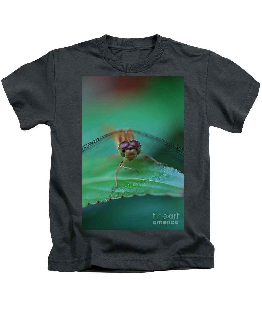 Insect Kids T-Shirt featuring the photograph Bug Eyes by Bianca Nadeau