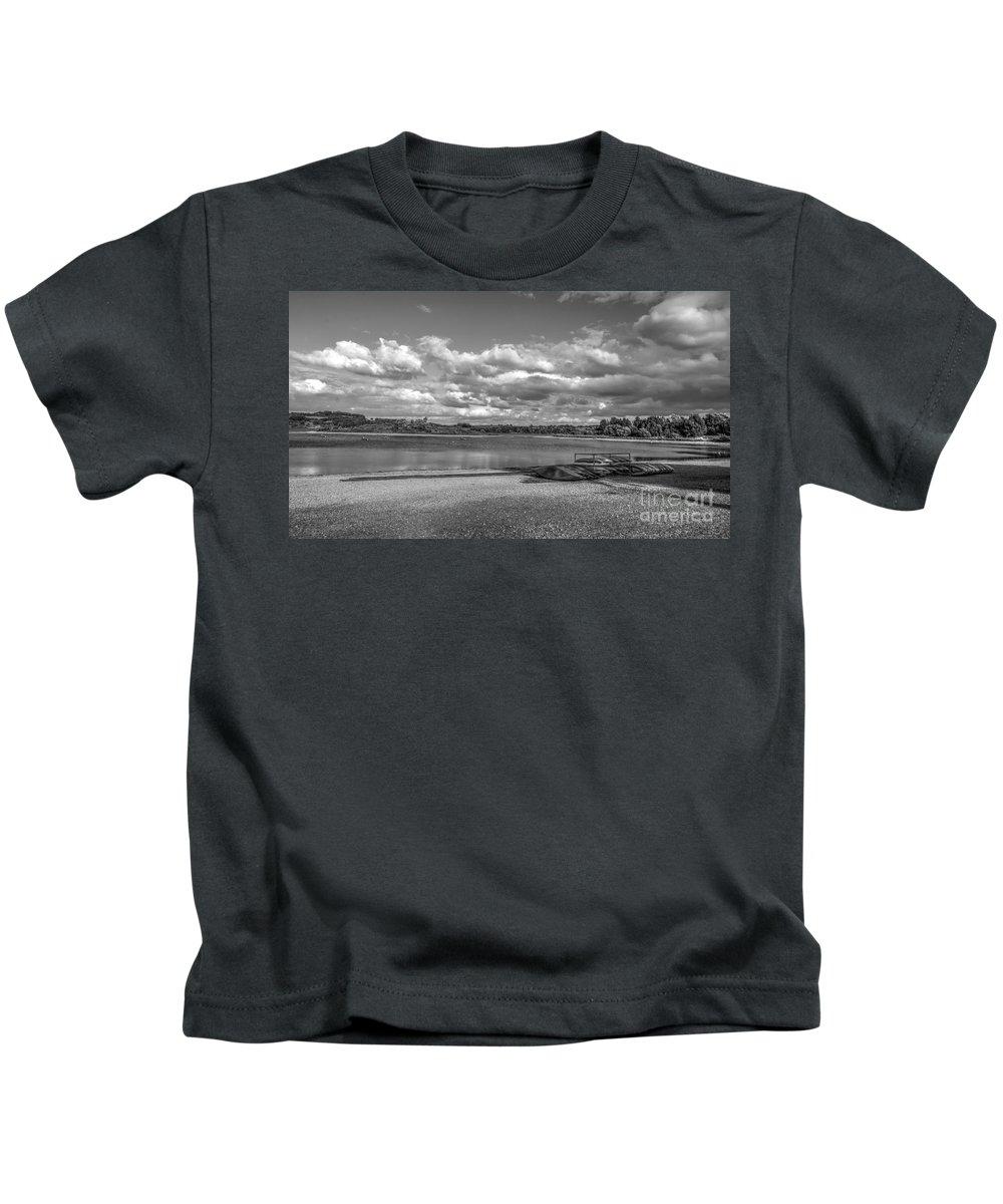 Amergate Kids T-Shirt featuring the photograph Carsington Beach by Mickey At Rawshutterbug