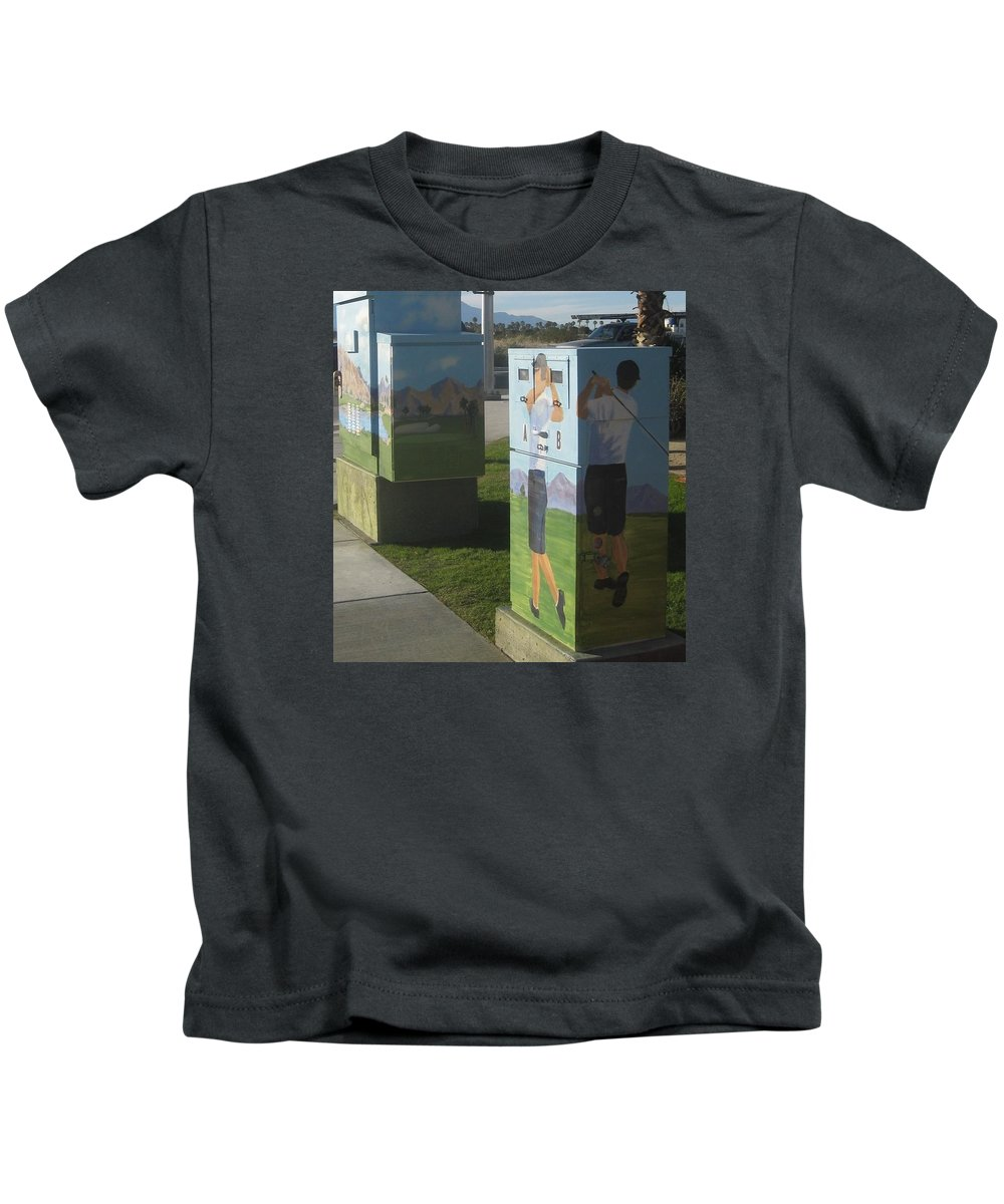 Traffic Signals Paintings Kids T-Shirts