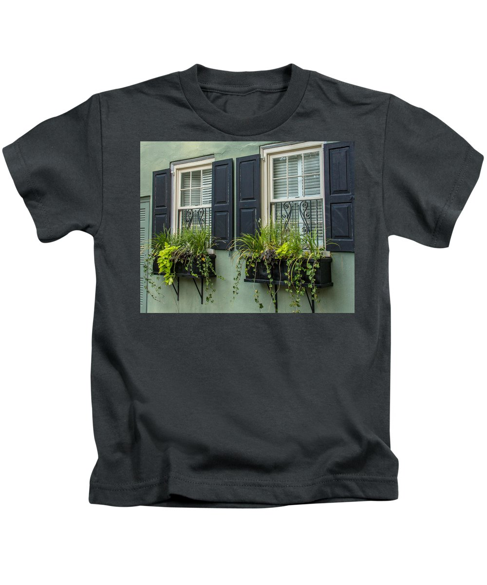Charleston Kids T-Shirt featuring the photograph Charleston 13 by Ken Kobe