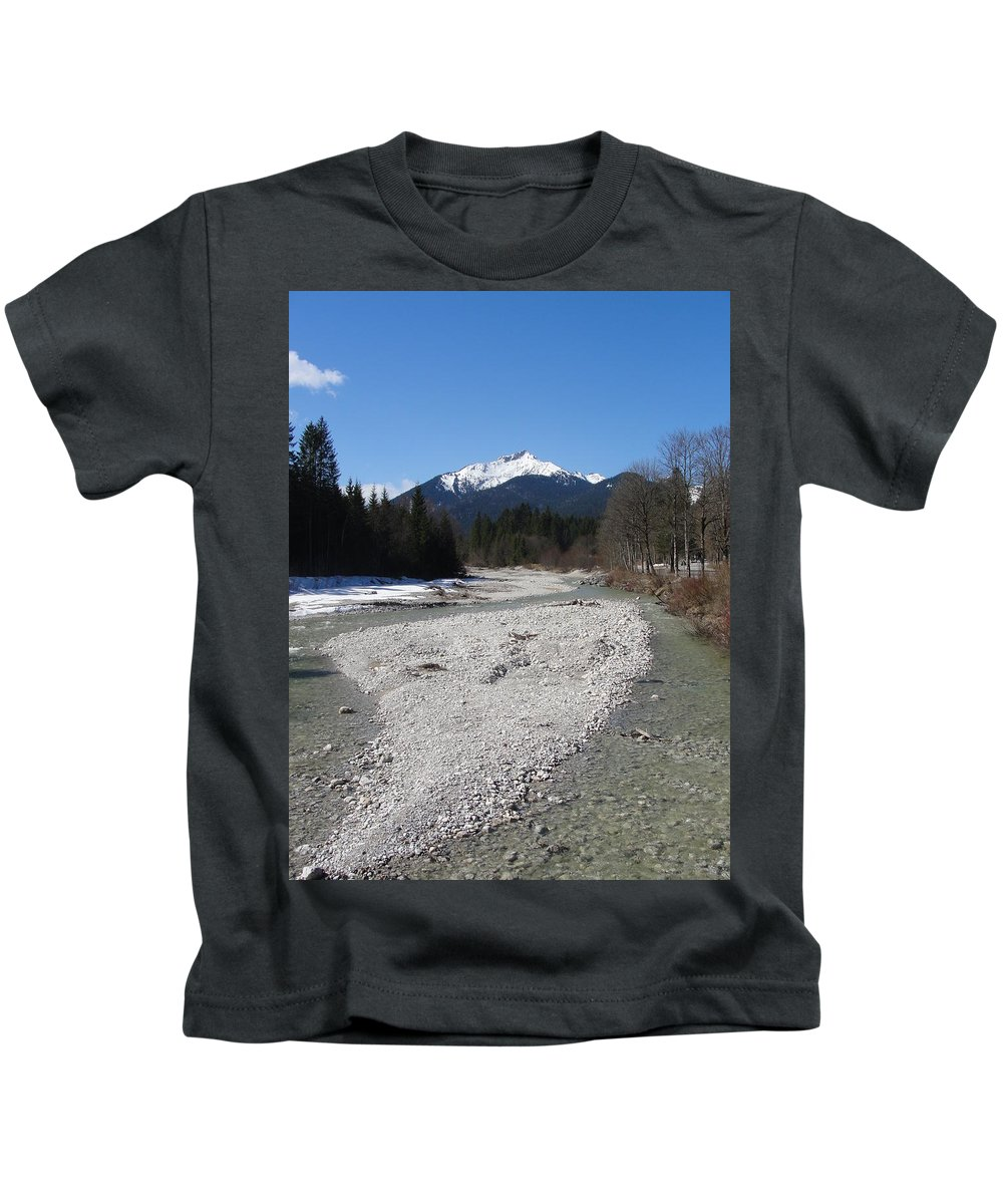 Water Kids T-Shirt featuring the photograph Clear Waters by Tiffany Erdman