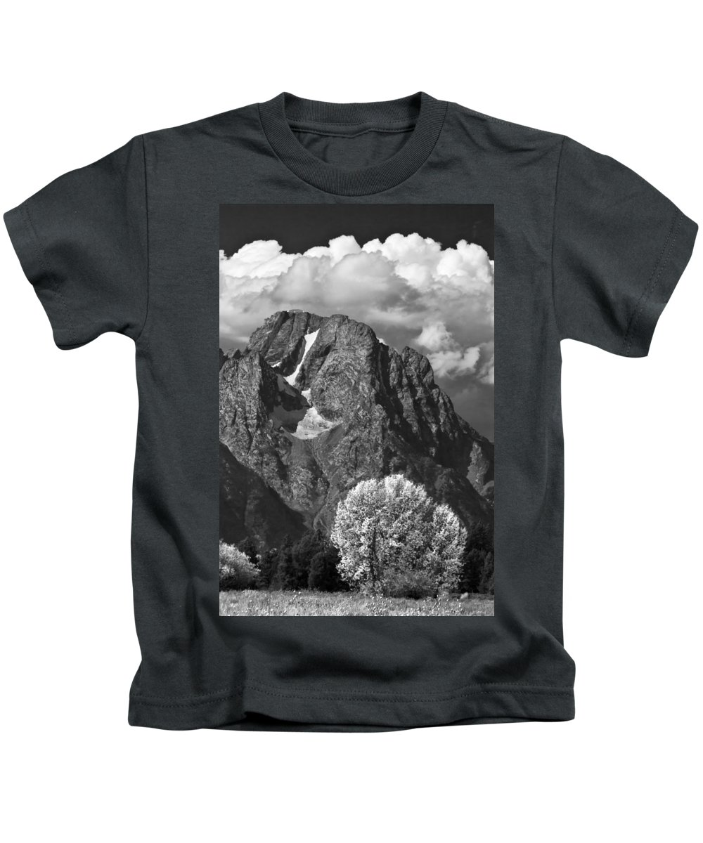 Cloud Bank Kids T-Shirt featuring the photograph Cloud Bank by Wes and Dotty Weber