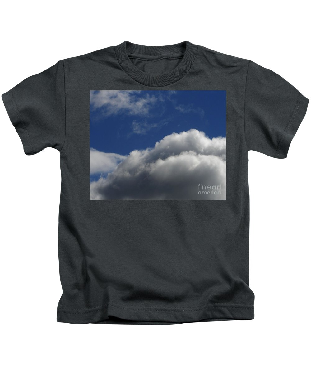 Clouds Kids T-Shirt featuring the photograph Clouds by Carol Lynch
