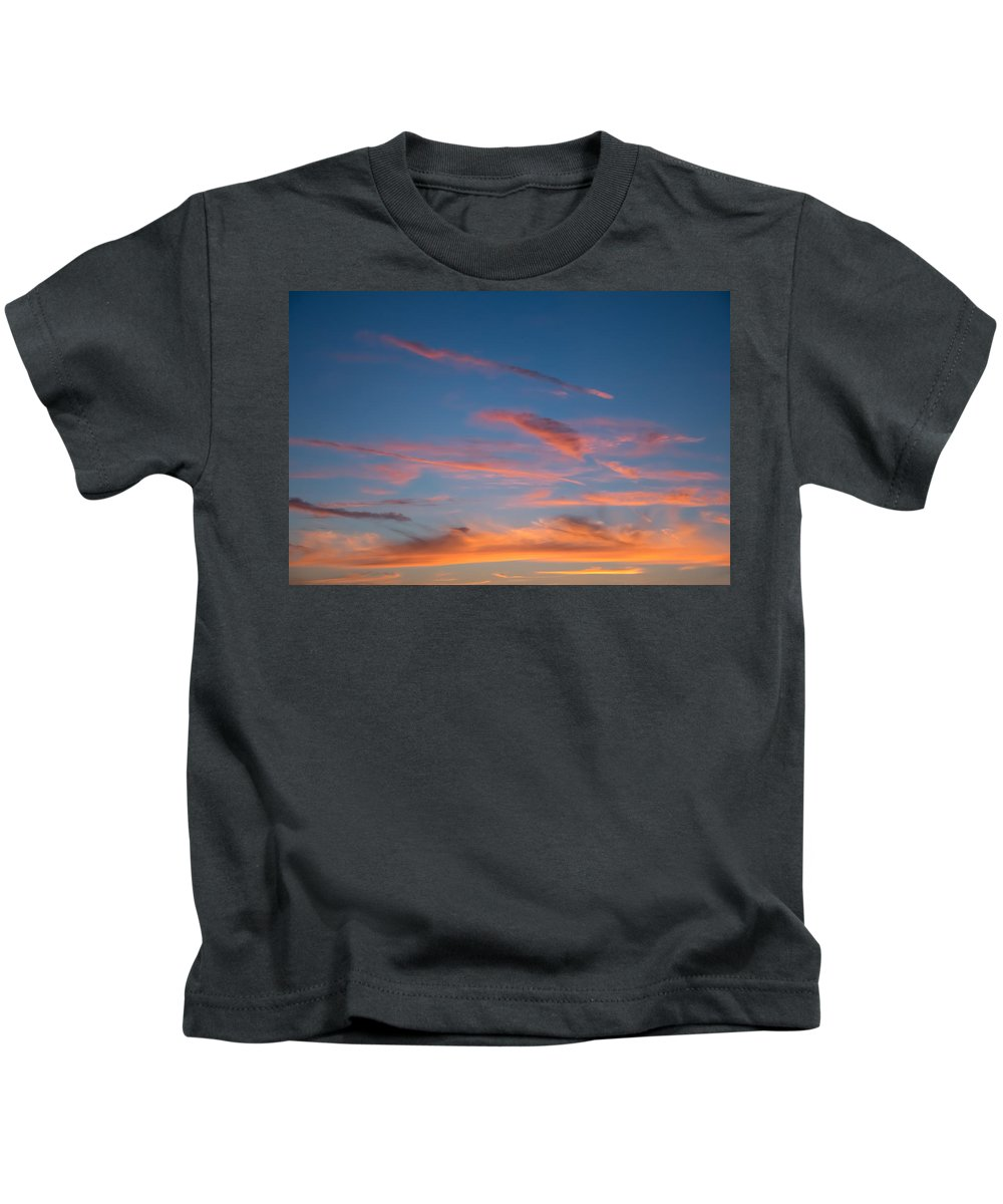 Clouds Kids T-Shirt featuring the photograph Clouds Vi by Robert VanDerWal