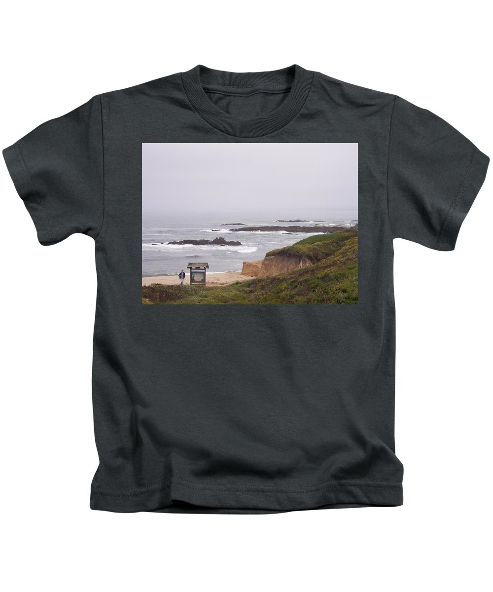 Coast Kids T-Shirt featuring the photograph Coastal Scene 7 by Pharris Art