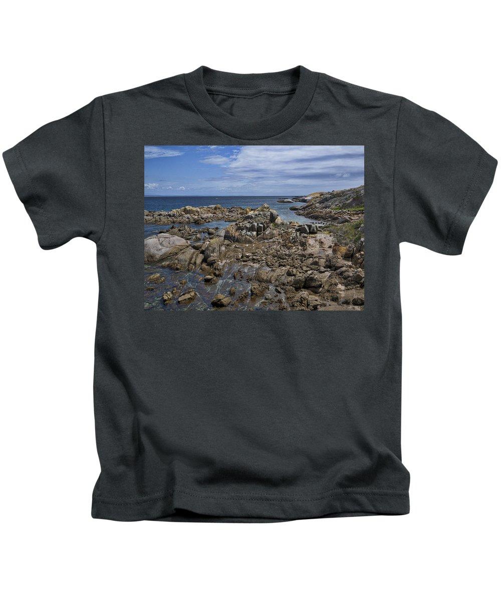 Australia Kids T-Shirt featuring the photograph Coastline - Montague Island - Australia by Steven Ralser