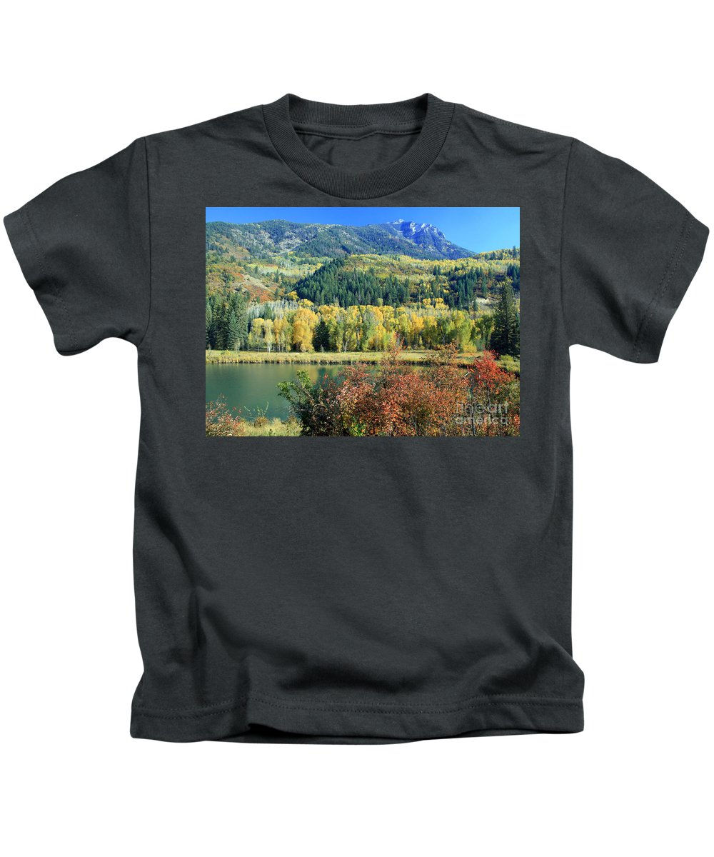 Somerset County Photographs Kids T-Shirts