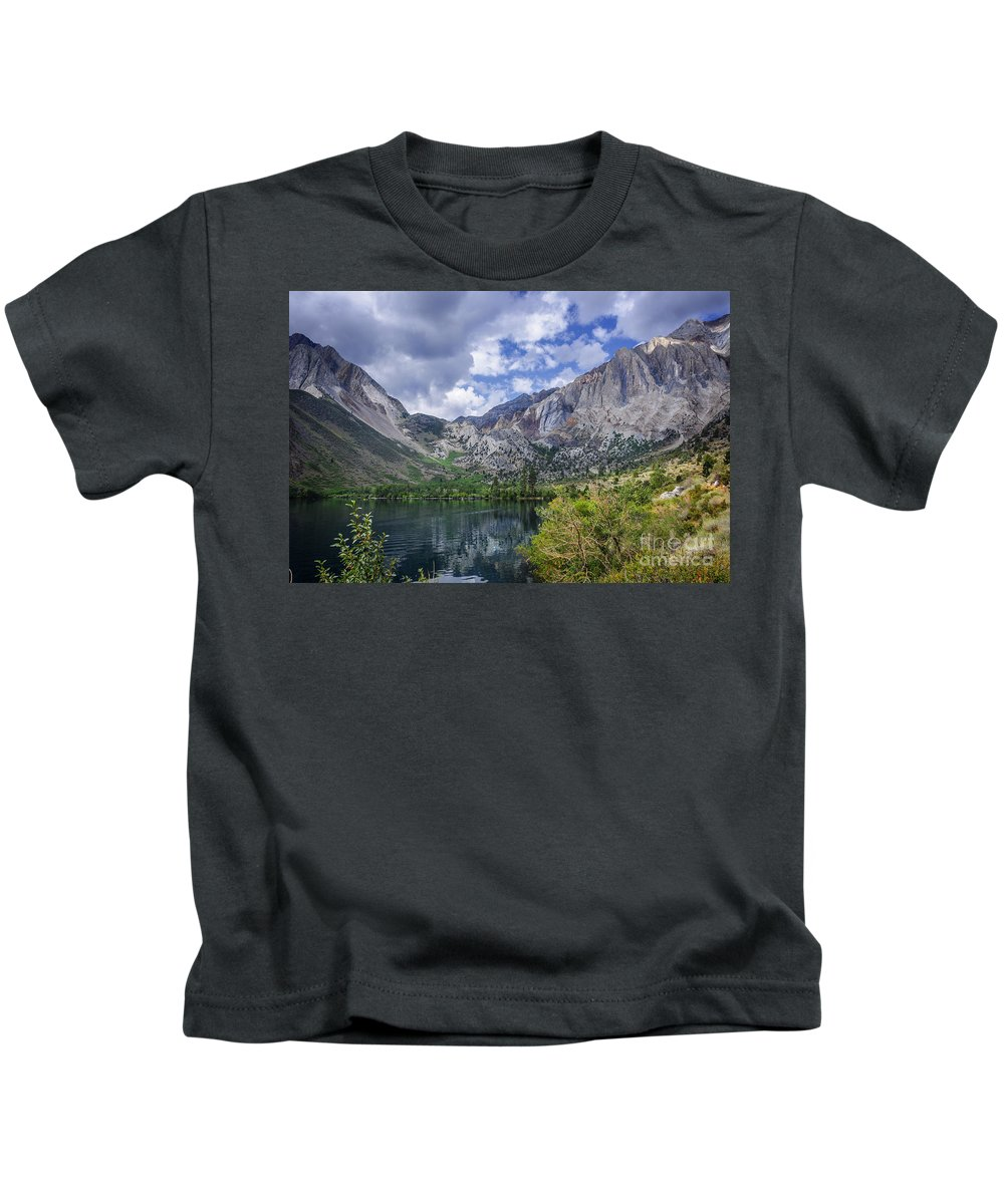 Lake Kids T-Shirt featuring the photograph Convict Lake by Dianne Phelps