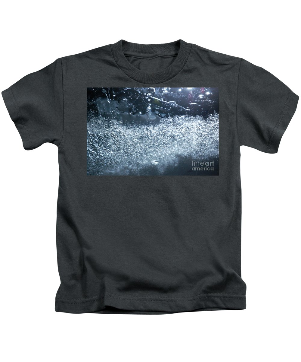 Abstract Kids T-Shirt featuring the photograph Cosmos 011 By Jammer by First Star Art