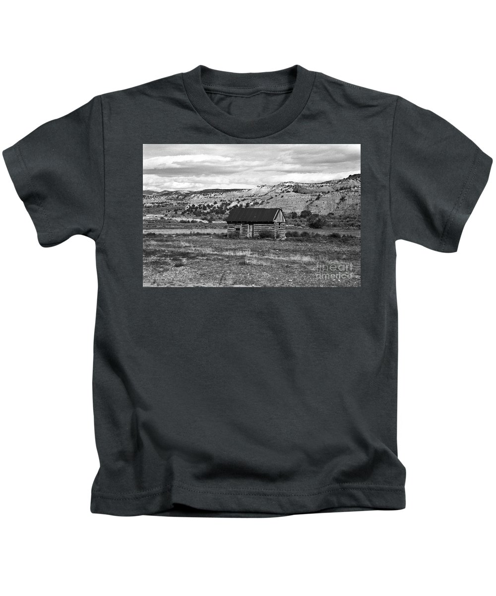 Utah Kids T-Shirt featuring the photograph Courage by Kathy McClure