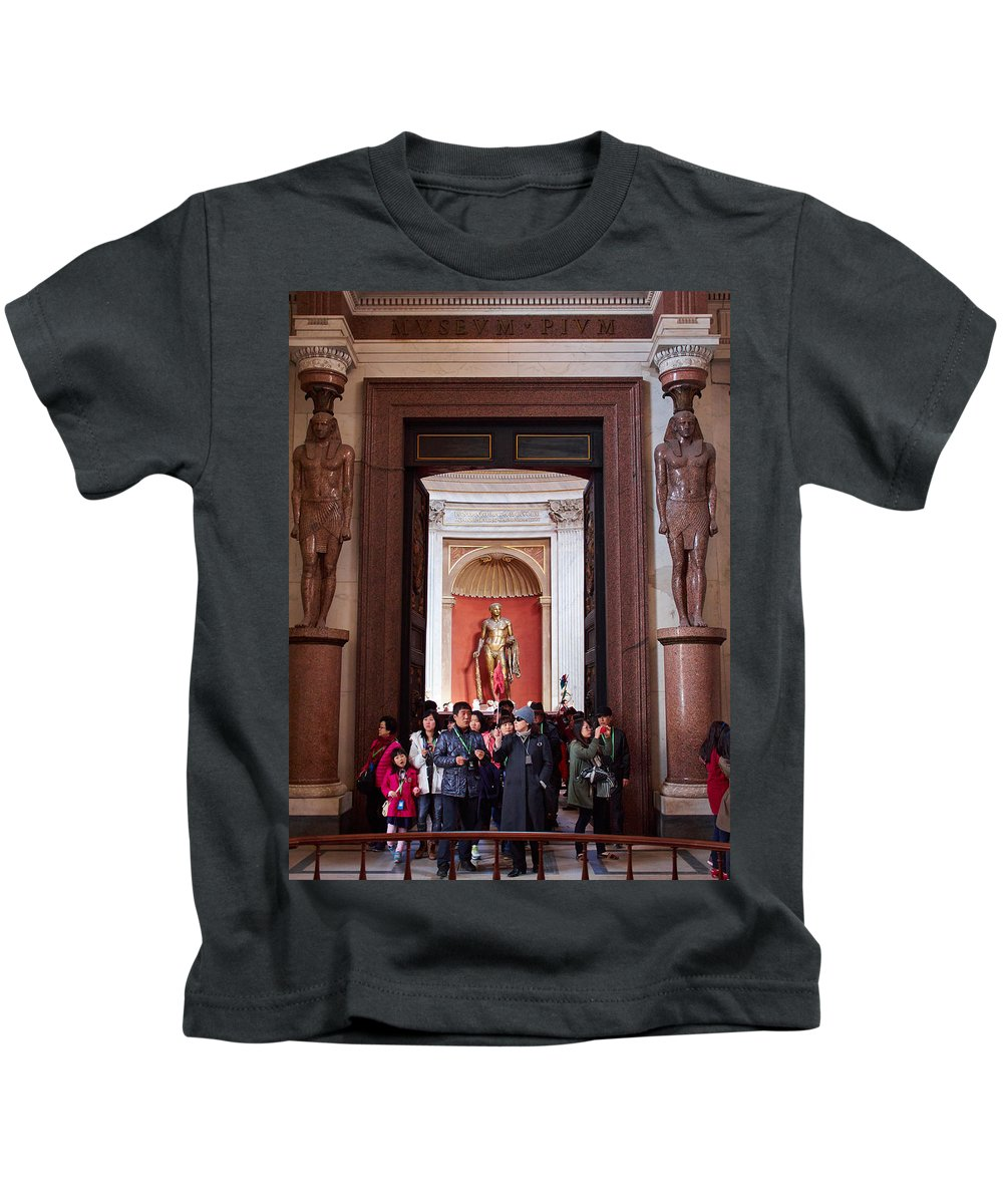 2013. Kids T-Shirt featuring the photograph Cultural Exchange by Jouko Lehto