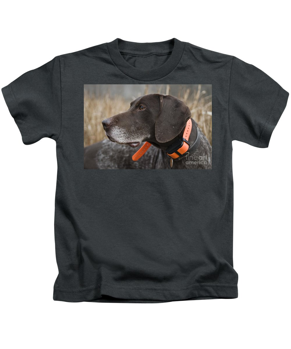 German Kids T-Shirt featuring the photograph D009383 - Soulful by Daniel Dempster