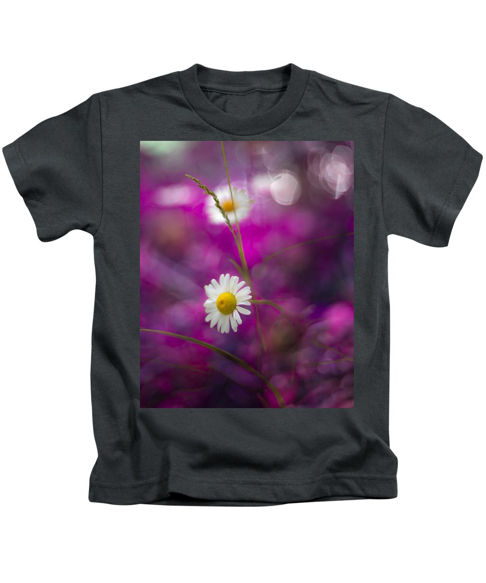 Canada Kids T-Shirt featuring the photograph Daisies by Jakub Sisak
